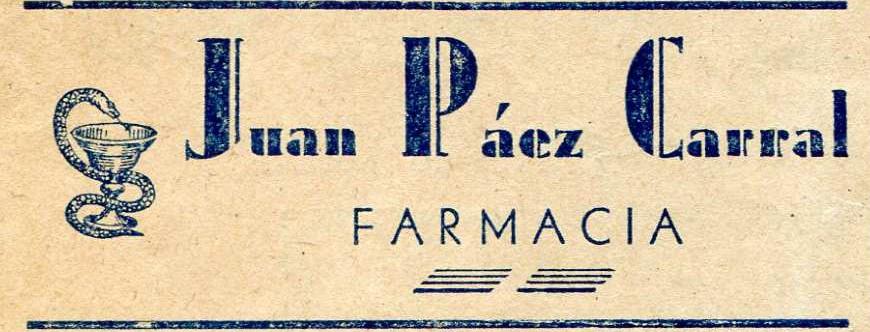 Farmacia Juan Páez Carral - 1948