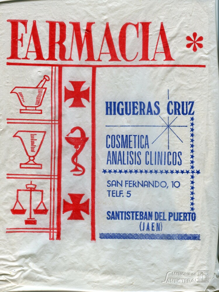 Bolsa de Farmacia - Higueras Cruz