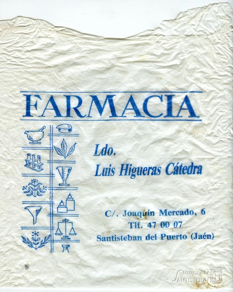 Bolsa de Farmacia - Luis Higueras Cátedra