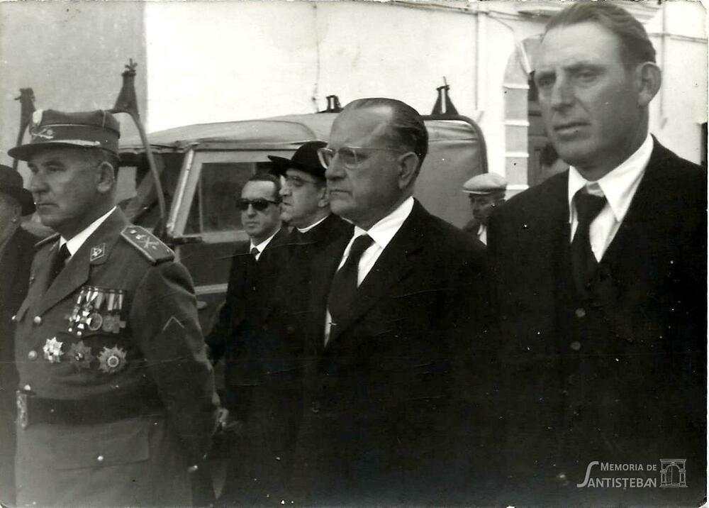 Fidel Cátedra, Juan José Herrera y Paulino Parrilla Mayordomía