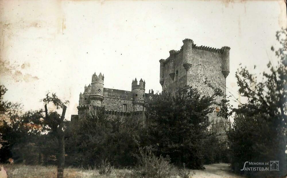 Vista de un castillo