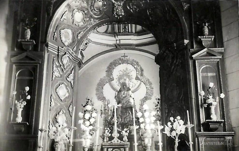 Hornacina Virgen del Collado
