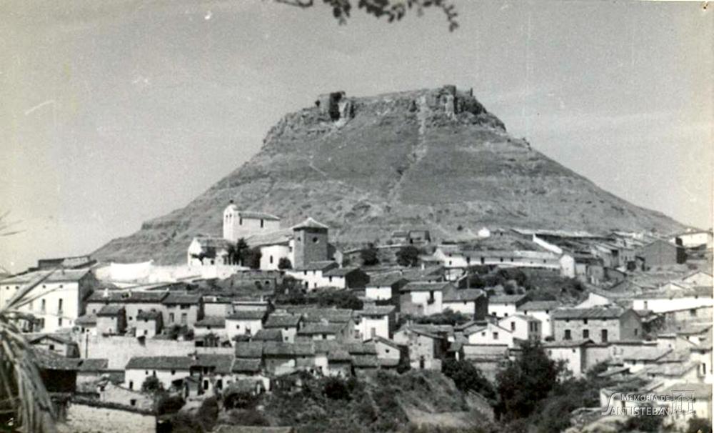 Vista general del cerro del Castillo