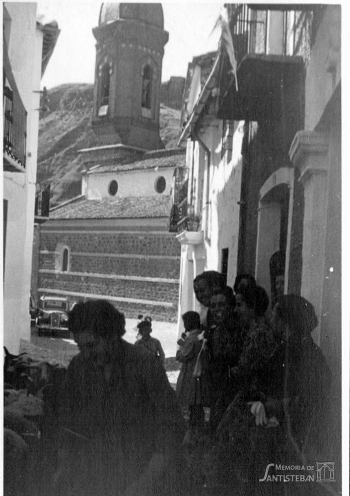 Rebaño pasando por calle San Esteban