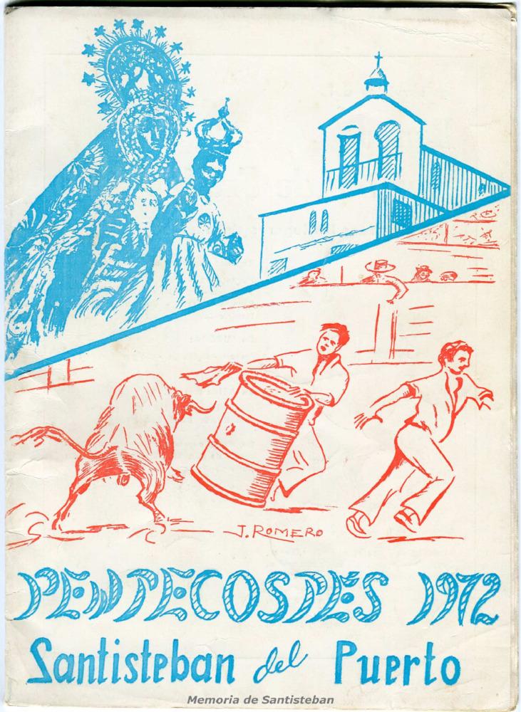 Programa de Fiestas - Pentecostés 1972