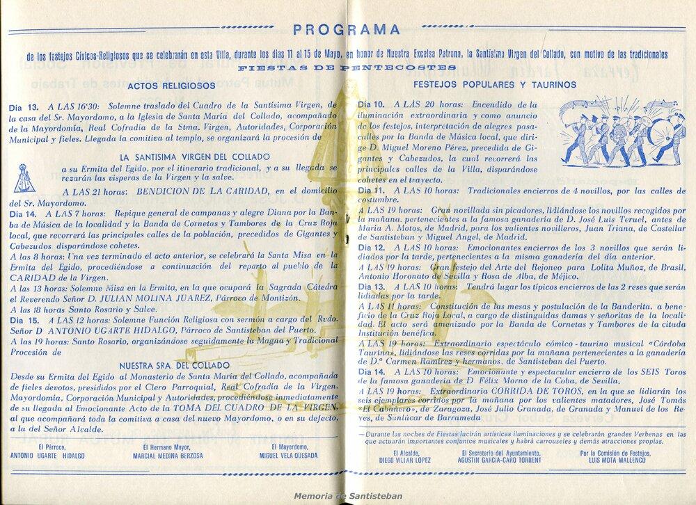 Programación Fiestas 1978