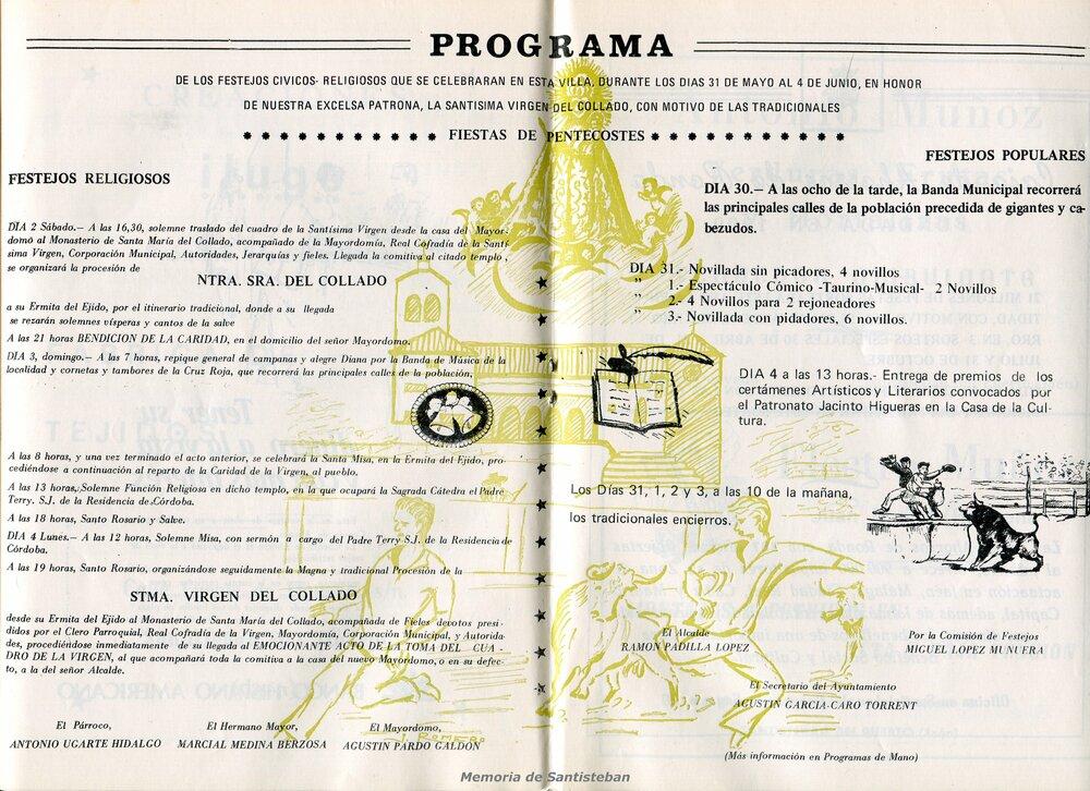 Programación Fiestas 1979