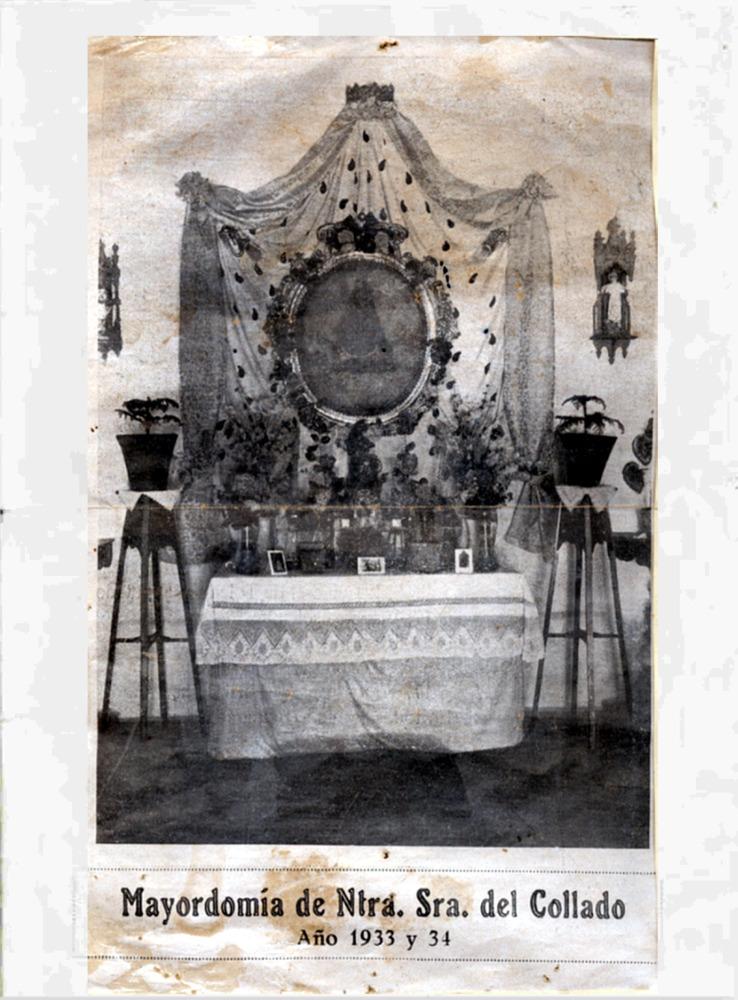 Programa de festejos religiosos de la Mayordomía 1933-34
