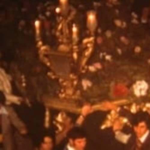Procesión de La Soledad - Semana Santa de 1979